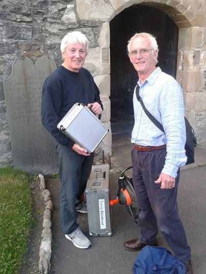 Morecambe Bay Movie Makers, Dave and Tim.